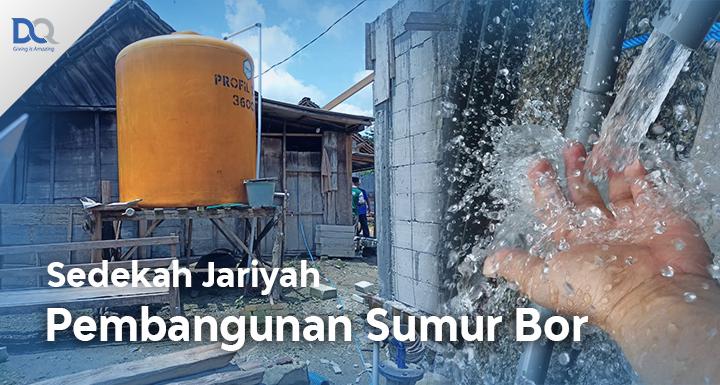 Bantu Pembuatan Sumur Bor di Desa Terpencil